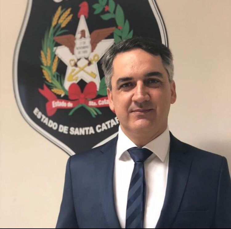 Delegado Augusto Brandão assume Delegacia Regional de Jaraguá - Crédito: Divulgação