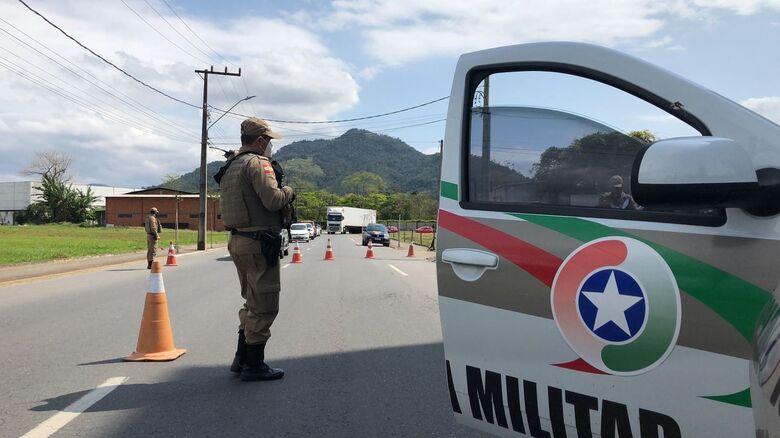 14º BPM realiza a Operação Presença em Jaraguá do Sul e região - Crédito: Ricardo Rabuske