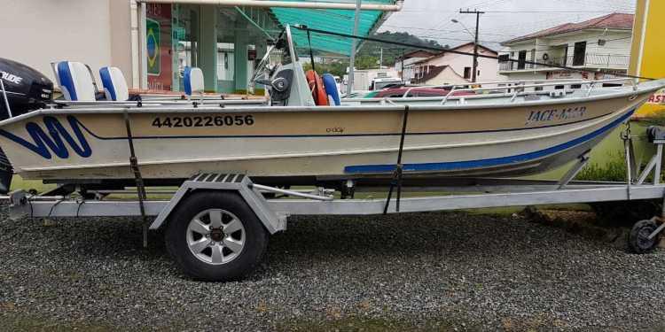 Barco é furtado em Guaramirim - Crédito: Diário da Jaraguá