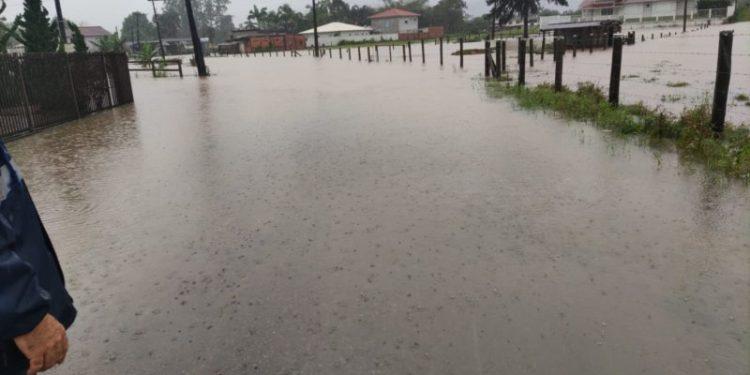 Chuva intensa afeta municípios de SC - Crédito: Defesa Civil/Divulgação.