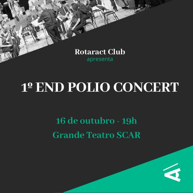 Rotaract de Jaraguá do Sul promove 'End Polio Concert' - Crédito: Arquivo / Divulgação