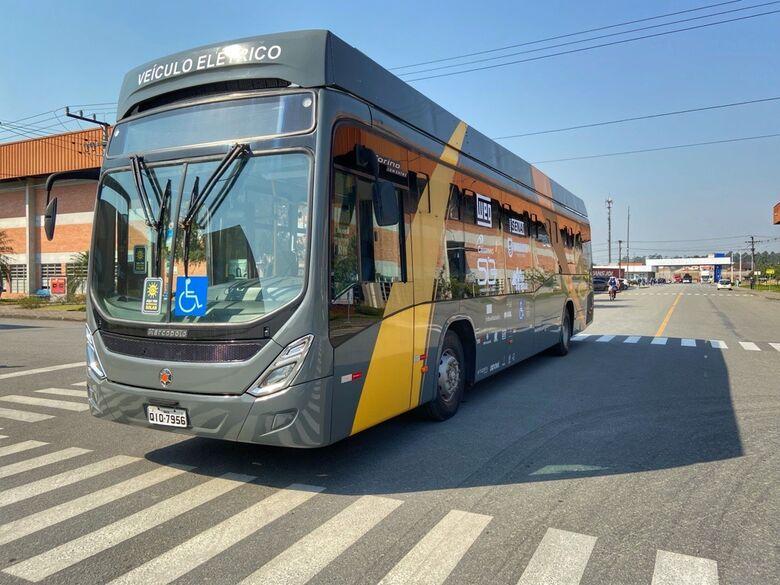 Terminam os passeios com ônibus elétrico em Jaraguá do Sul - Crédito: Arquivo / Divulgação