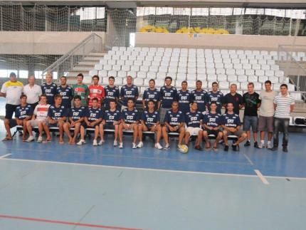 ADJ/Pré-Fabricar apresenta equipe de futsal de Jaraguá do Sul
