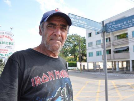 Ciclista morre na Walter Marquardt