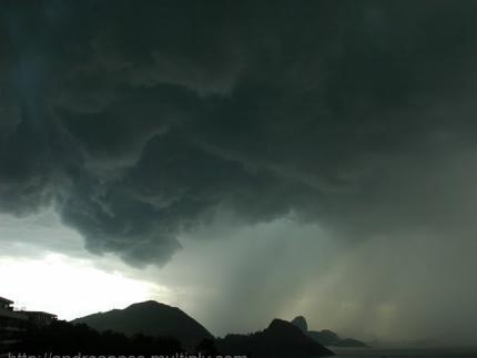 Previsão indica chuva forte até domingo em toda a região