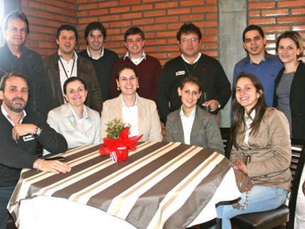 Equipe da Jaraguá AM no Restaurante SER Marisol