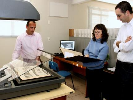 Arquivo Histórico comemora aquisição de scanner profissional