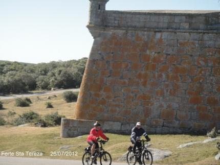 Dupla pedala de Massaranduba até Montevidéo, no Uruguai