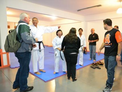 Jaraguá do Sul ganha nova opção de ensino de karatê
