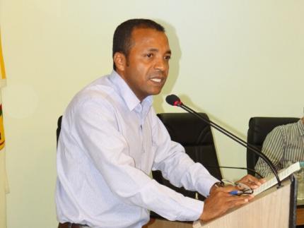 Petista preside a Mesa Diretora da Câmara de Vereadores