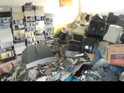 Programa recolhe 6,2 toneladas de lixo eletrônico