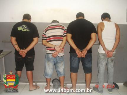 Acusados de crimes na região são presos pela Polícia