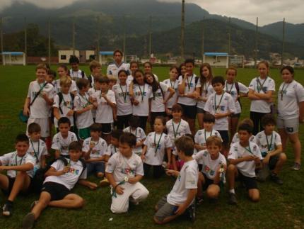 Alunos do Pae participam da 2ª Maratoninha Sesi