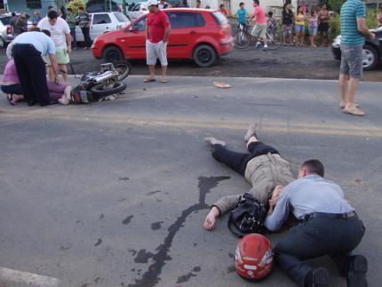 Bombeiros atendem a acidentes sem gravidade