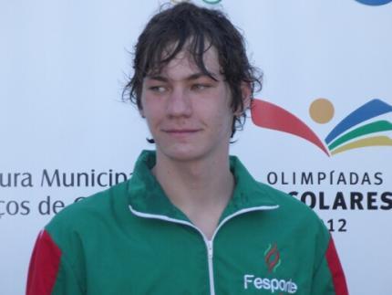Nadador convocado para os Jogos Sul-americanos