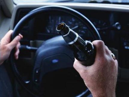Quatro flagrantes de motoristas bêbados no fim de semana