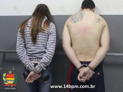 Casal é preso por tráfico de drogas no João Pessoa