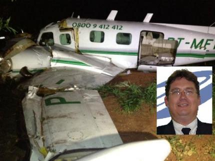 Corpo de piloto morto no Paraná é sepultado nesta manhã