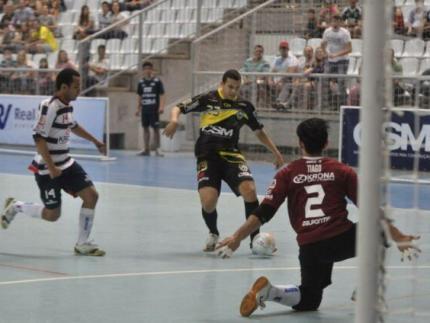 CSM Futsal/FME enfrentará o Joinville na final do Campeonato Catarinense de Futsal