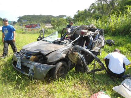 Cinco pessoas morrem em acidente em Piçarras