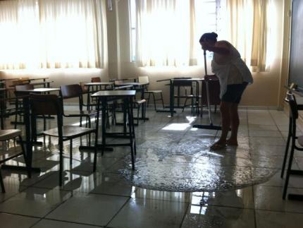 Aulas na Emef Maria Nilda S. Stähelin são suspensas
