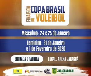 Finais Copa Voleibol